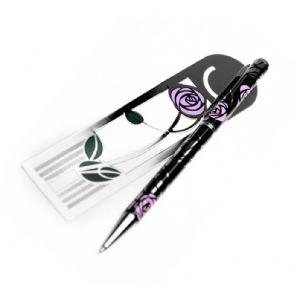 Rennie Mackintosh Pen & Bookmark Set (4)
